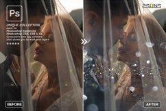 Christmas string light overlay, Fairy bokeh overlay Product Image 2
