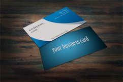 Photorealistic business card mockup set Product Image 6