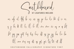Southbound - Calligraphy Signature Product Image 5