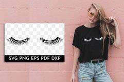 Eyelashes SVG. Eye lashes SVG. Eyes SVG. Product Image 1