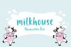 Milkhouse - Handwritten Font Product Image 1