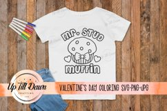Valentine's Day Coloring SVG Product Image 1