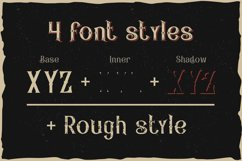Pirates rum vintage typeface Product Image 2