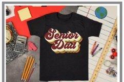 Retro Senior Mom/Dad SVG Bubble Letters Product Image 2