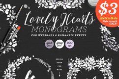 Lovely Hearts Monograms V Product Image 1