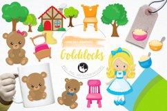 Goldilocks graphics and illustrations Product Image 1