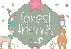 Forest Friends - A Handwritten Font Product Image 1