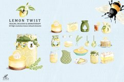Lemon Twist Graphic Illustrations and patterns Product Image 2