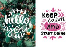 50 Lettering Posters Collection! Product Image 2