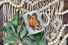 Butterfly Steampunk Style | SVG file Product Image 3
