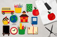Owl back to school graphic illustrations Big Bundle Product Image 4