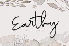 Earthy - A Handwritten Script Font Product Image 1