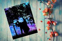 1st Anniversary Papercut, Wedding SVG PNG PDF Product Image 1