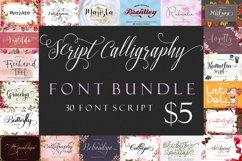 Script Calligraphy Bundle Product Image 1