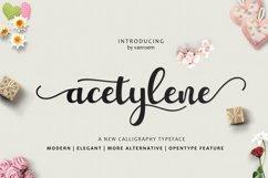 Acetylene Script Product Image 1