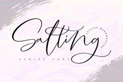 Salting | Handwriting Script Font Product Image 1