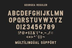 GEORGEA ALL CAPS FONT FAMILY WITH EXTRAS Product Image 13