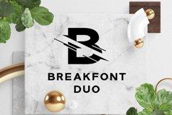 Break Font Duo Product Image 1
