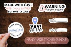 Ultimate Handmade Business Sticker Bundle Product Image 5