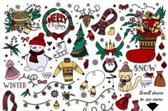 Christmas Doodles Product Image 6