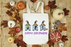Halloween sublimation designs fall Halloween witch gnomes Product Image 3