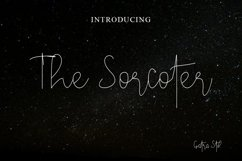 The Sorcoter Signature Font Product Image 1