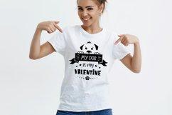 Valentine dog svg, dog lover quote svg, dog valentines svg Product Image 5