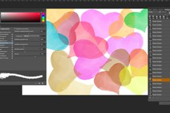 Flowers and leaves Photoshop Brushes Product Image 5