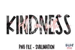Kill Em With Kindness Sublimation Design, Kindness PNG Product Image 1
