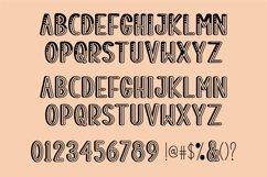 Web Font Muchas Gracias - a decorative font Product Image 3