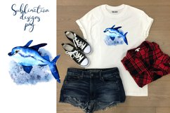 Residents of deep water Sea Style Sublimation Product Image 2