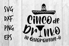 Cinco de Drinko SVG design Product Image 1