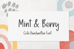 Mint & Berry Product Image 1