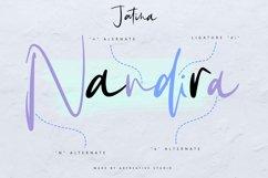 Jatina - Dynamic Signature Font Product Image 2