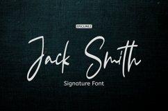 Jack Smith - Signature Script Font Product Image 1