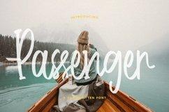 Web Font Passenger - Handwritten Font Product Image 1