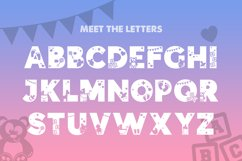 Baby Silhouette Font Product Image 3