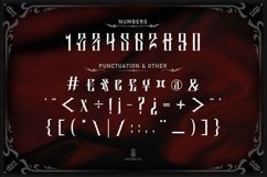 Salliery | Gothic font Product Image 4