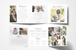 Photography Square Trifold Brochure Product Image 2