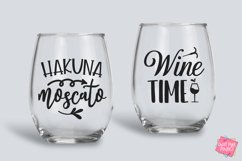 Wine Quotes Bundle SVG, EPS, DXF, PNG Product Image 6