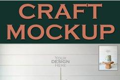 Mockup Cake Toppers Acrylic Stick topper Birthday 2 | JPEG Product Image 2