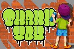 Bomber Throw Graffiti Font Product Image 6
