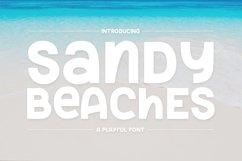 Web Font Sandy Beaches Product Image 2