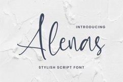 Web Font Alenas Font Product Image 1