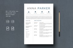 Creative Resume Template Product Image 2