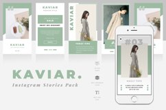 Kaviar Instagram Stories Template Product Image 1