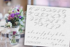 Peony script display font Product Image 2