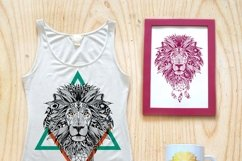 Textured animals in aztec style Product Image 3