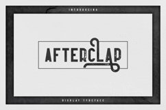 Afterclap typeface - 3 styles Product Image 1