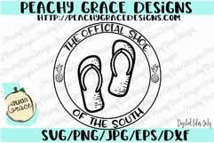 Flips Flops Shoe of the South SVG Product Image 1